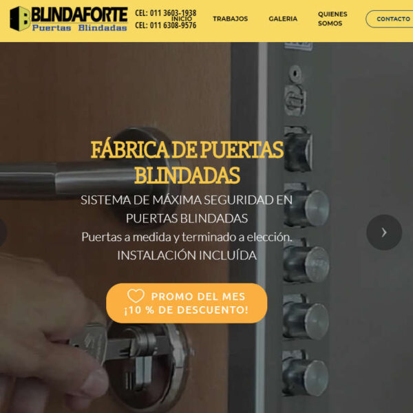 pagina web de blindaforte